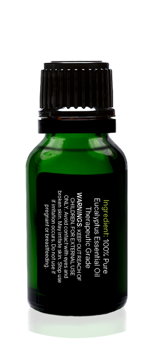 Eucalyptus Globulus Organic Essential Oil 15ml (1/2 oz) -100% Pure & Undiluted- Tropical-Holistic