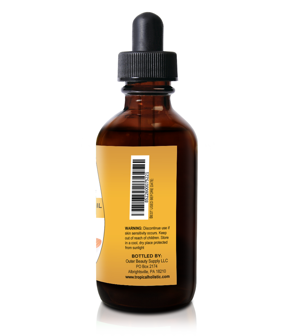 Sweet Almond Oil 4 oz, Hexane Free for Skin and Hair,