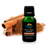 Cinnamon Bark Organic Essential Oil 15ml