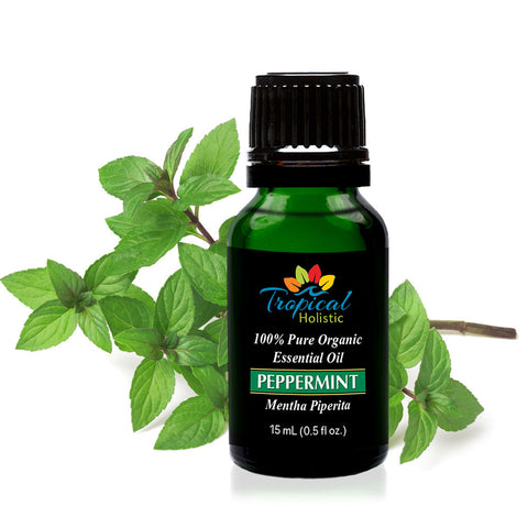 Peppermint Organic Essential Oil 15ml