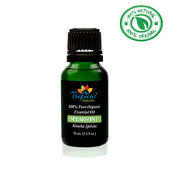 Spearmint Organic Essential Oil 15ml (1/2 oz) -100% Pure & Undiluted