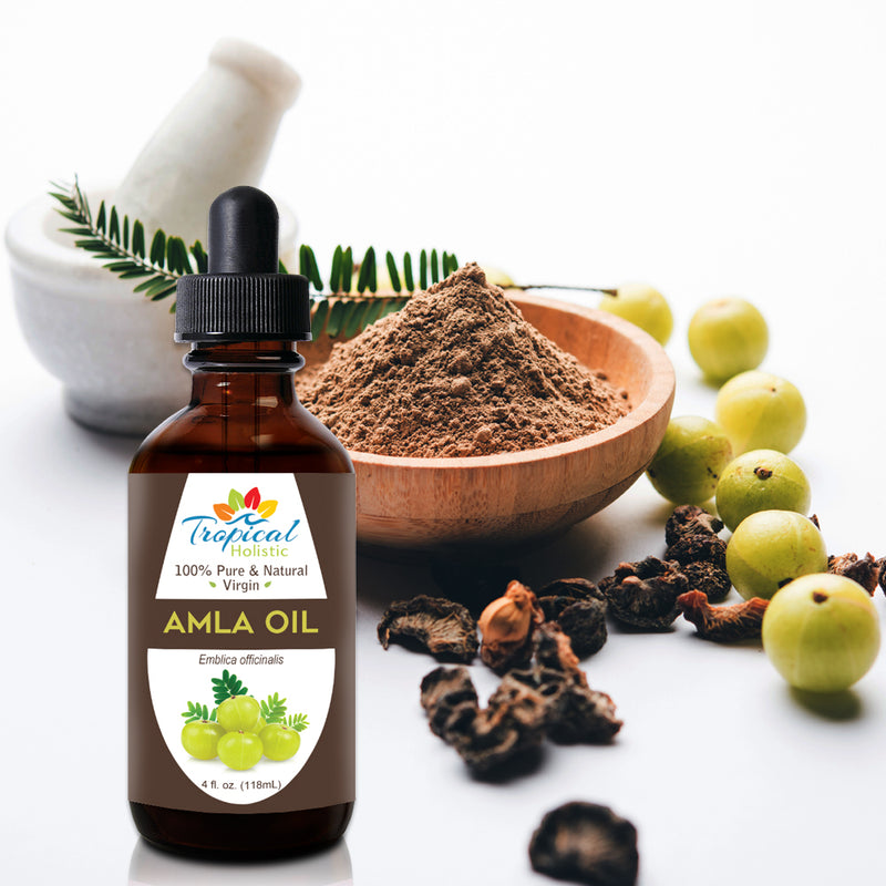 100% Pure Virgin Organic Amla Oil 4oz - Tropical-Holistic
