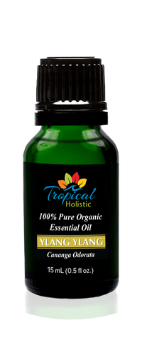 Ylang Ylang II Organic Essential Oil 15ml (1/2 oz),100% Pure Therapeutic Grade Aromatherapy