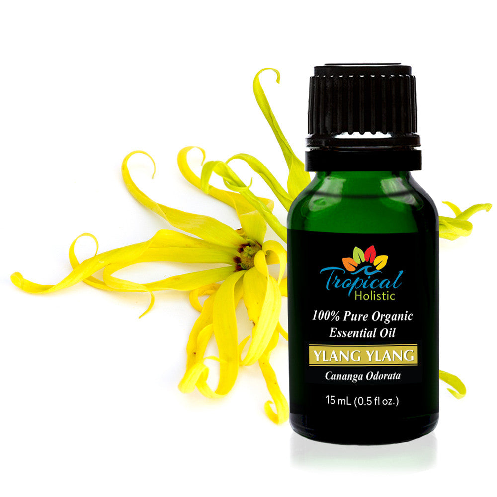 Ylang Ylang II Organic Essential Oil 15ml (1/2 oz) ,100% Pure Therapeutic Grade Aromatherapy