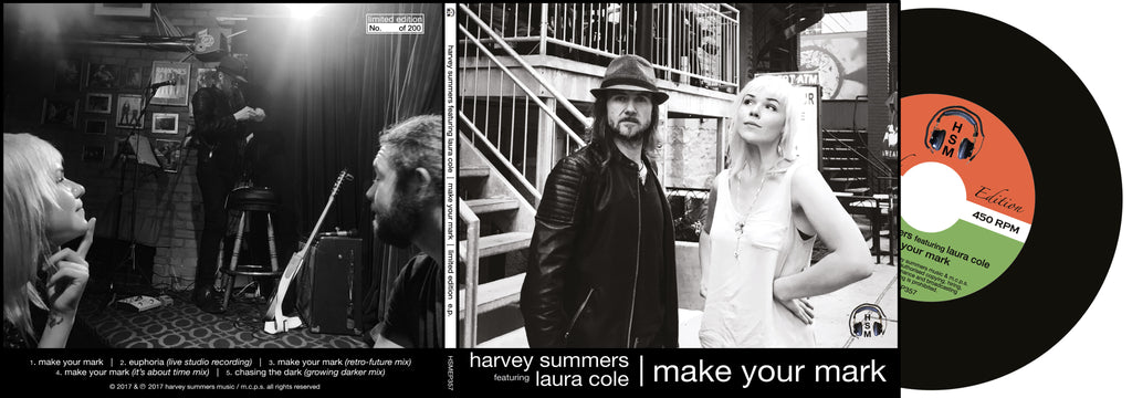 make your mark ep | harvey summers featuring laura cole