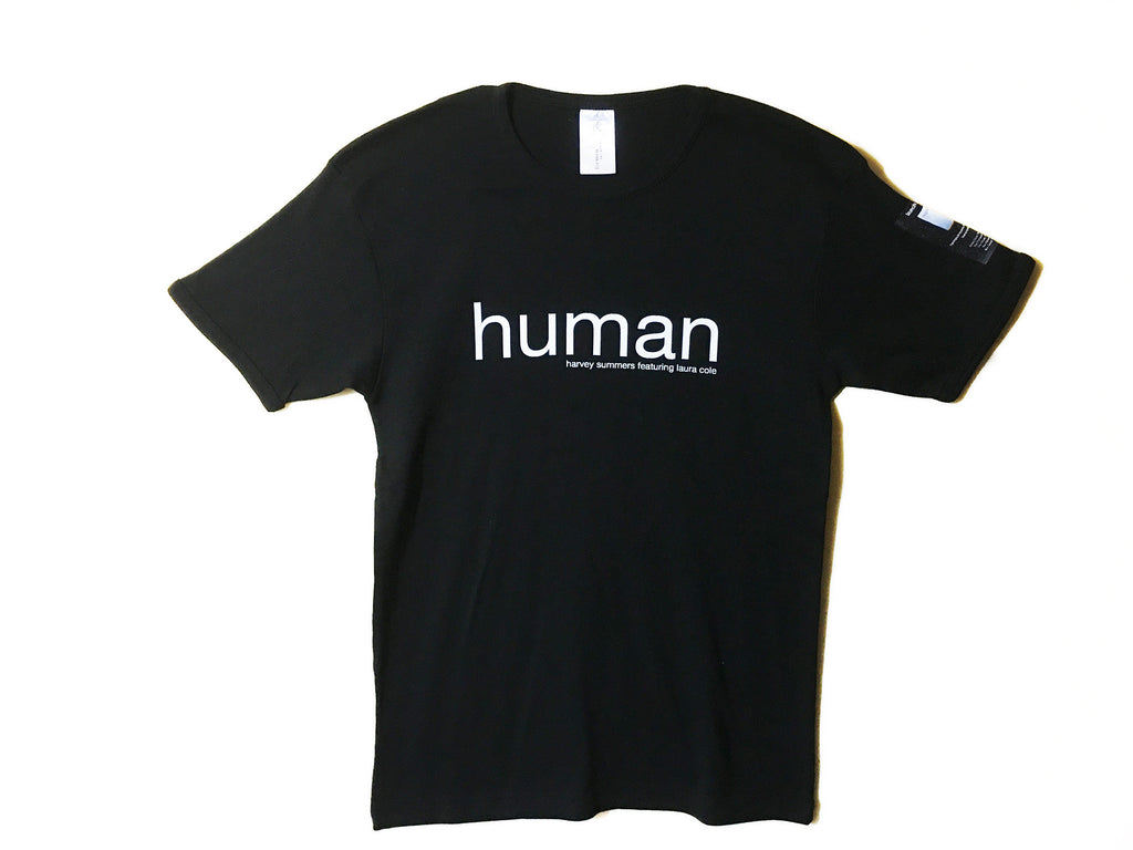 'human' UK tour short sleeve t-shirt LAST ONE! (Harvey Summers feat. Laura Cole)