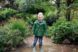 Boys Raincoat - Forest