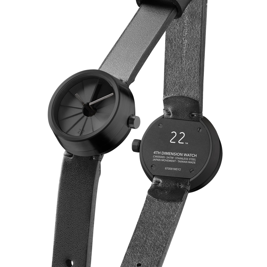 4D Concrete Watch 30mm Shadow Edition