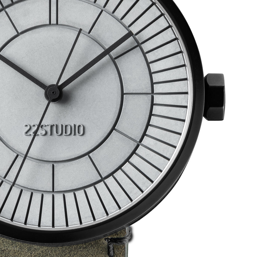 Concrete Sector Watch 40mm Chaos Edition