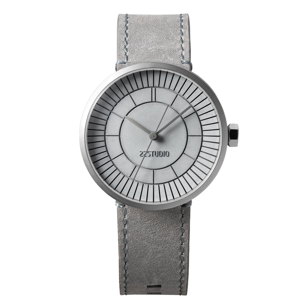 Concrete Sector Watch 40mm Concrete Grey Edition