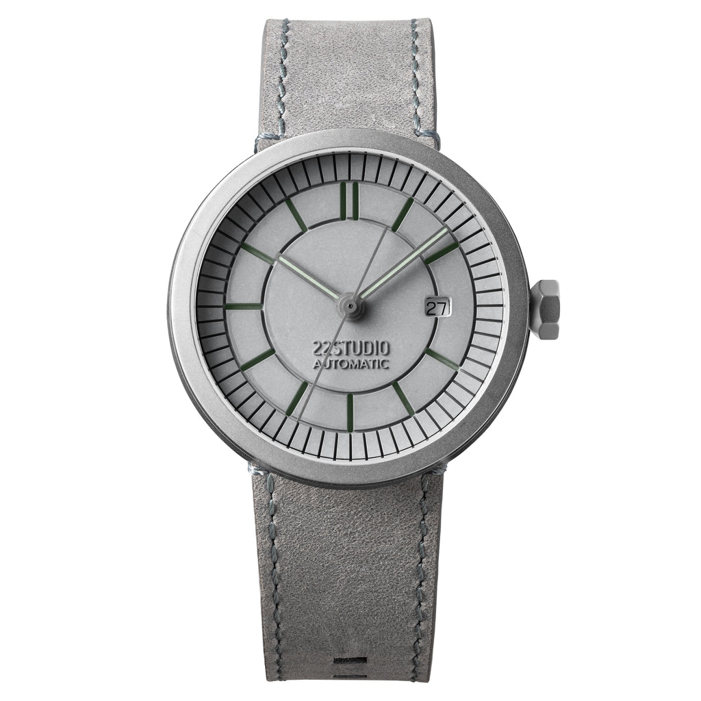Concrete Sector Watch 43mm Automatic Concrete Grey Edition