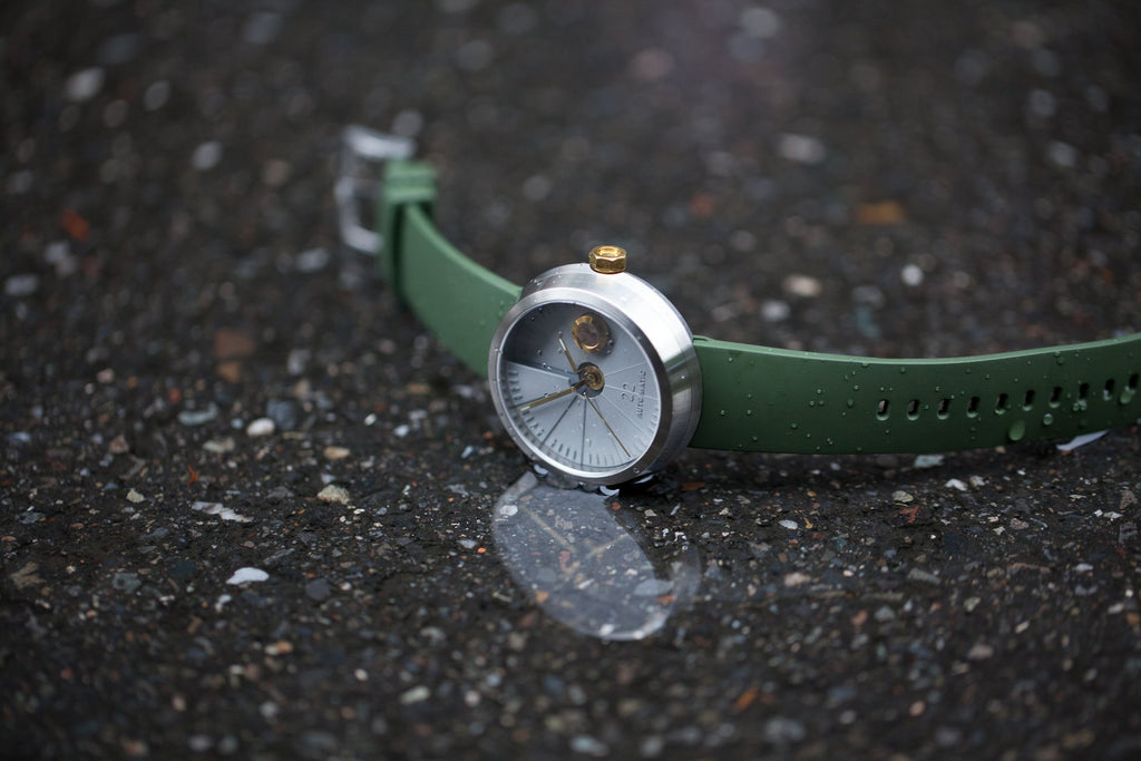 4D Concrete Watch Automatic - Oasis Edition