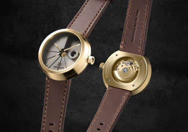 4D Concrete Watch Automatic - Minimal Edition Brass Look