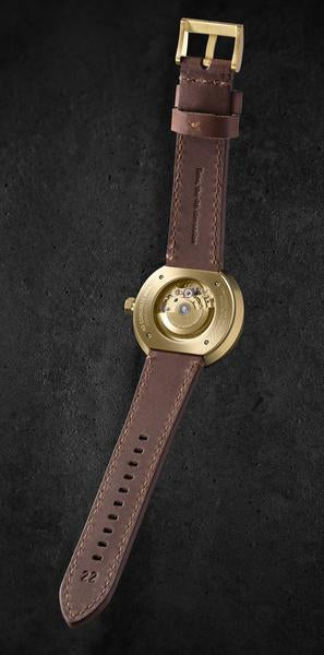 4D Concrete Watch Automatic - Signature Edition Brass Look
