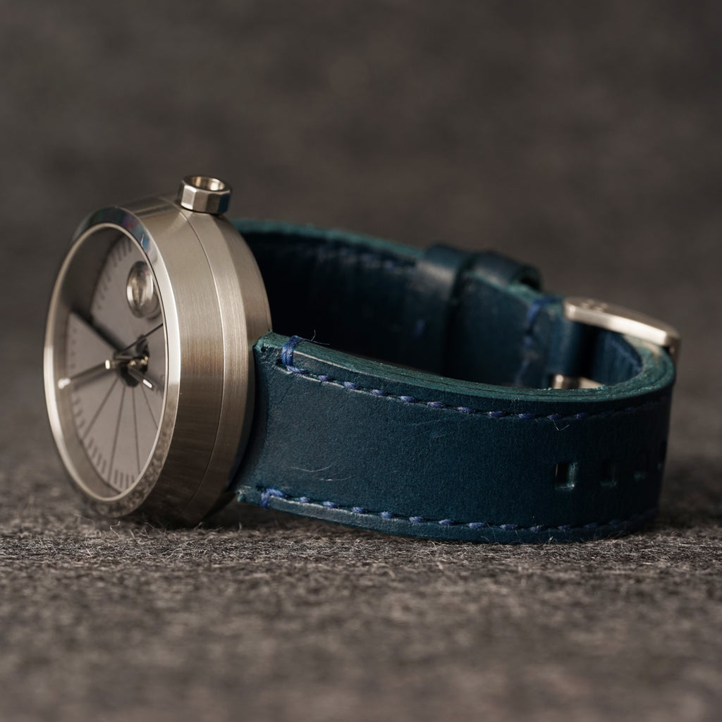 Leather Strap 22-20 mm