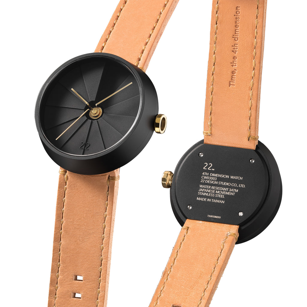 4D Concrete Watch 42mm Midnight Edition