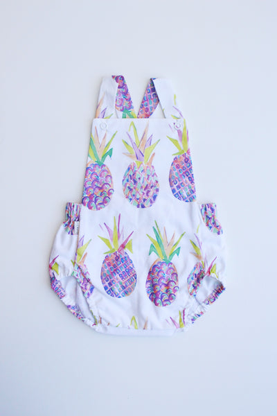 Summer Romper - Pineapple Crush