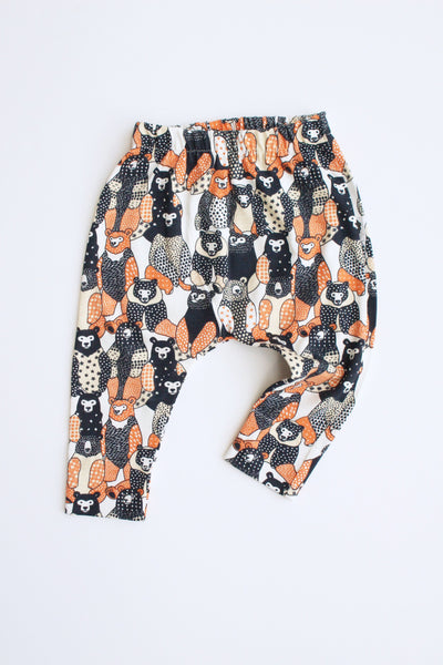 100% Cotton Harem Leggings - Dapper Bear