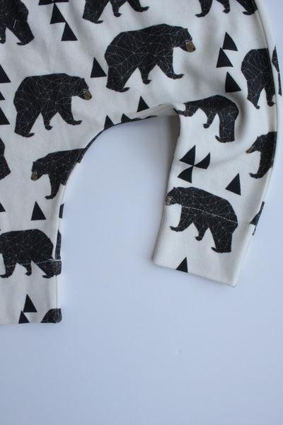 Organic Harem Leggings - Geo Bear