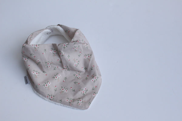 Bandana Bib - Cottage Rose
