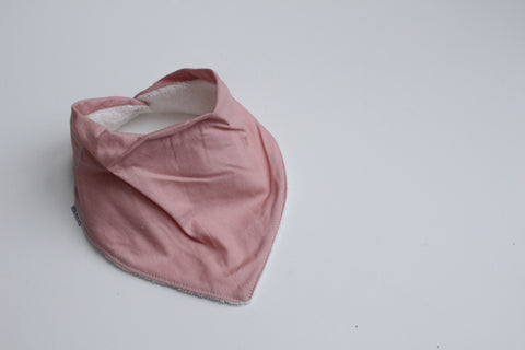 Bandana Bib - Dusty Pink