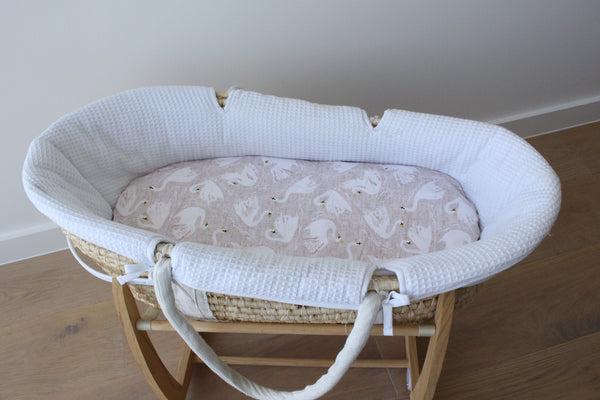Royal Swans - Bassinet Sheet