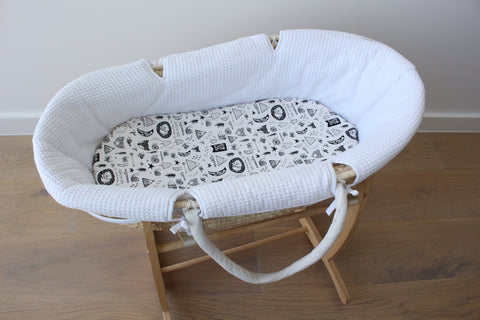 Forest Dreaming - Bassinet Sheet