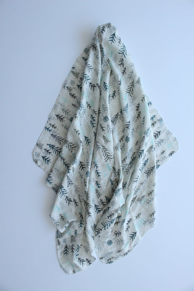 In the Forest Muslin Wrap