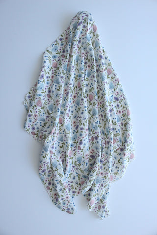 Botanical Muslin Wrap
