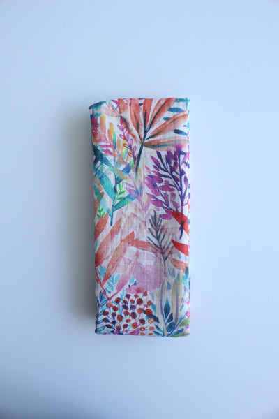 Electric Jungle Muslin Wrap