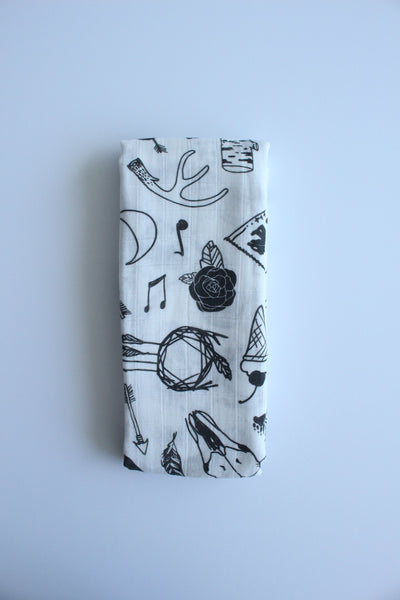 Tattoo Muslin Wrap