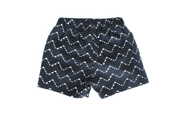 Shorties - Geo Chevron