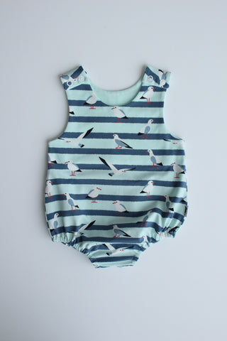 Stretchy Romper - Seaside