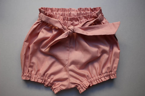 Belted Bloomers - Dusty Pink - Little Dreamer Australia