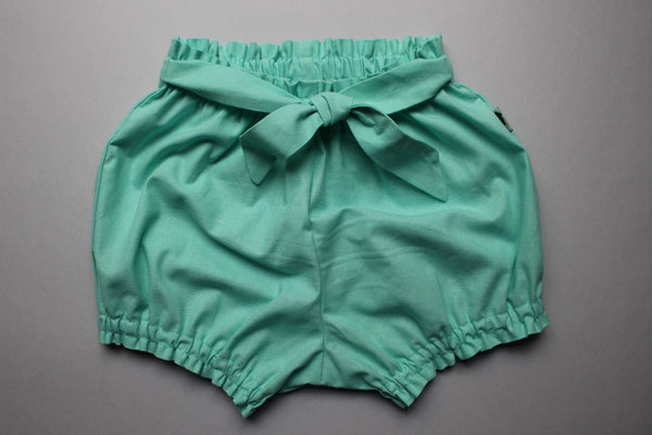 Belted Bloomers - Turqouise - Little Dreamer Australia