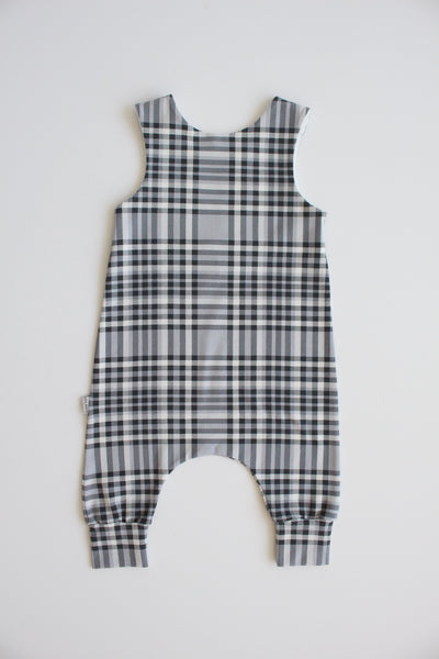 Check - Stretchy Harem Romper