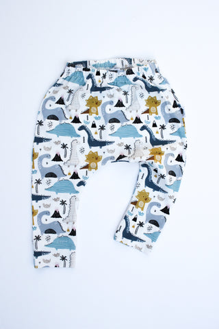Stretchy Harem Leggings - Dinosaurs