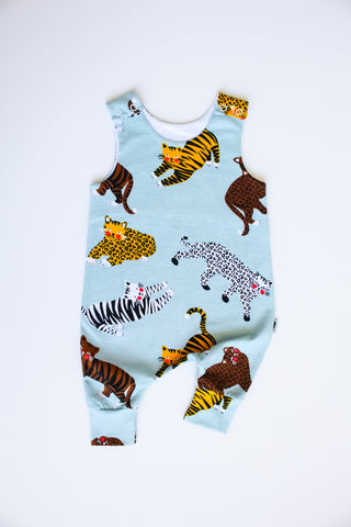 Big Cats - Organic Harem Romper