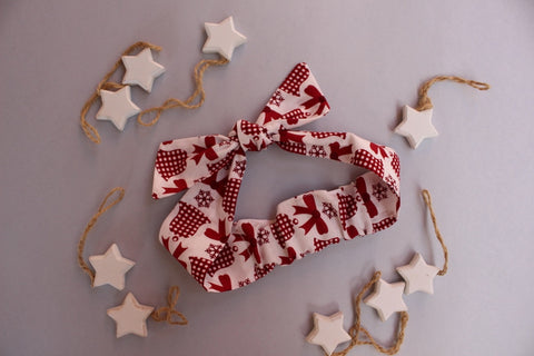 Christmas Headband - Bells and Bows