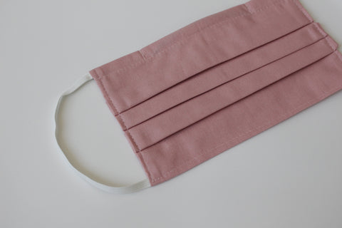 Child Face Mask - Dusty Pink