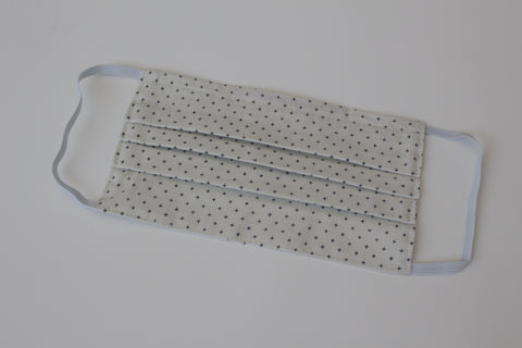 Adult Face Mask - Navy Mini Cross