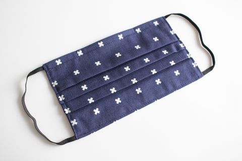 Adult Face Mask - Navy Cross (LAST ONES)