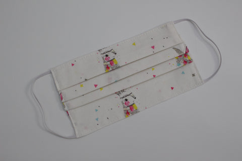 Child Face Mask - Rainbow Bunnies