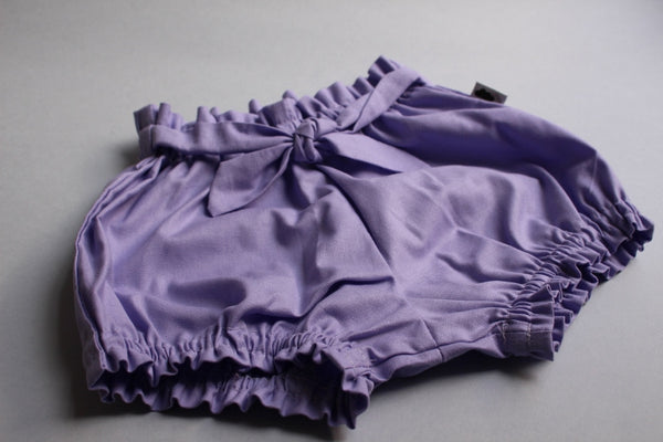 Belted Bloomers - Lilac - Little Dreamer Australia