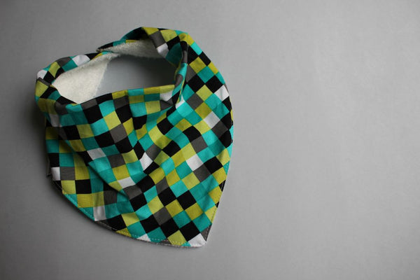 Bandana Bib - Green Machine - Little Dreamer Australia