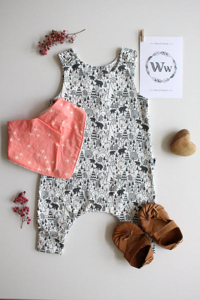 Into the Woods - Harem Romper