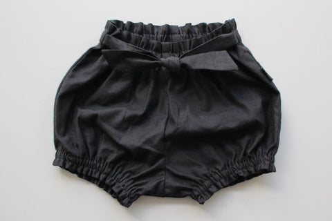 Belted Bloomers - Charcoal