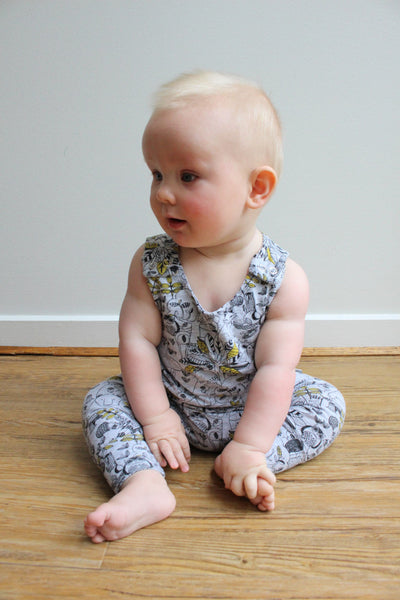 Behind the Leaves - Harem Romper