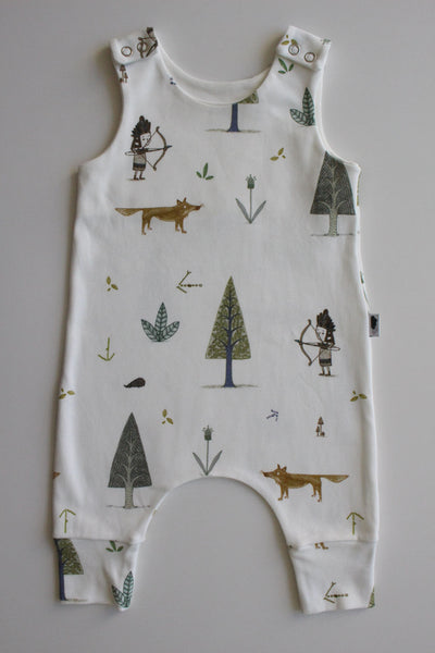 Little Hunter - Organic Harem Romper