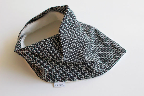 Bandana Bib - Linear (Black)